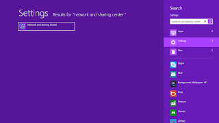 Cara Sharing Internet Dan Membuat Wifi Hostpot di Windows 8