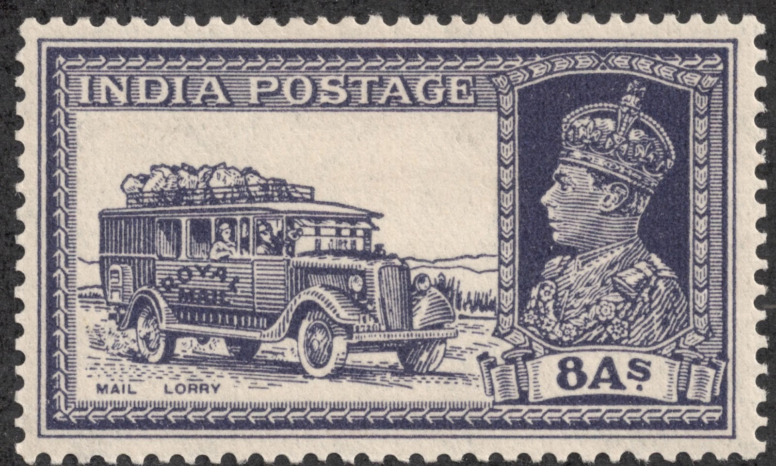big blue 18401940 india regular issues 18541940