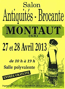 1er Salon Antiquités Brocante à Montaut