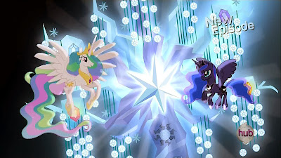 Celestia and Luna at the Tree of Harmony