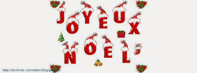 Couverture pour facebook joyeux noel