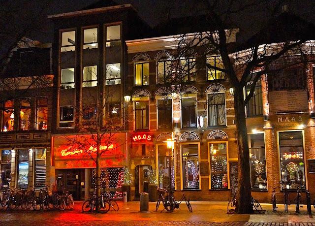 Afbeelding van Cantina Mexicana en Huize Maas in Vismarkt, Groningen.