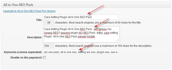 set all in one seo pack
