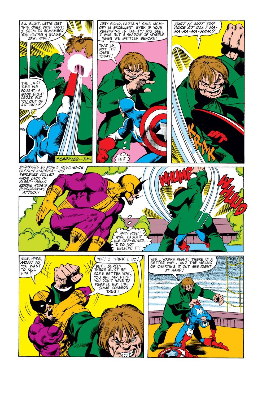 Captain America (1968) Issue #251 #166 - English 22