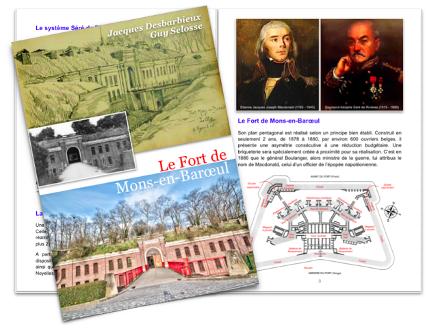 Brochure du Fort de Mons