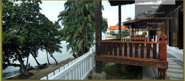 Desa Balqis,percutian suasana kampung, masjid tanah
