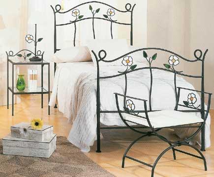 Muebles de forja camas forja para dormitorios infantiles - Camas de forja ...