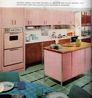 Ideas deco cocinas a os 50 s y 60 s - Cocinas anos 50 ...