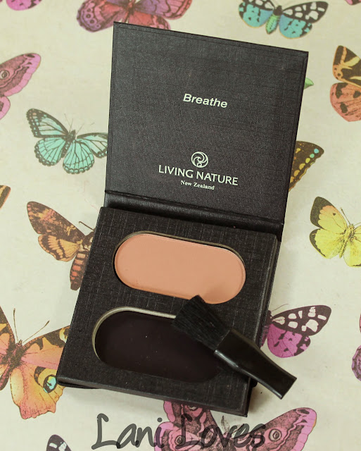 Living Nature Warm Summer Blush Swatches & Review