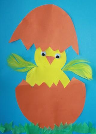 Tominowo Wielkanocny Kurczaczek