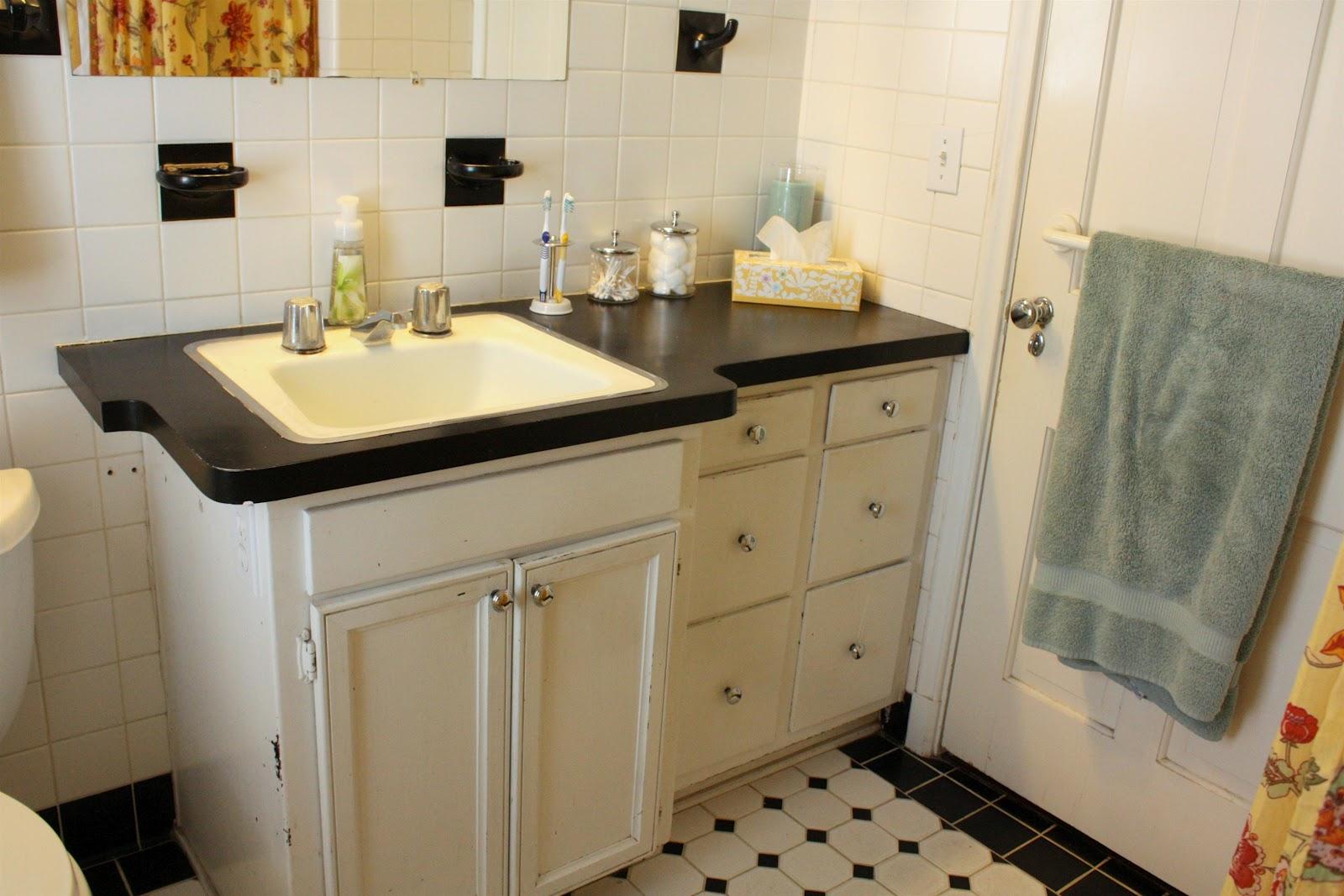 Painting Plastic Bathroom Cabinets russet street reno: bathroom paint