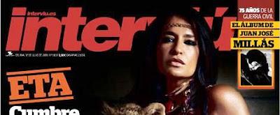 Aida Nizar posará en Revista Interviu de Julio de 2011.