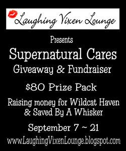 4th Supernatural Cares Giveaway and Fundraiser September 7th ~ 21st