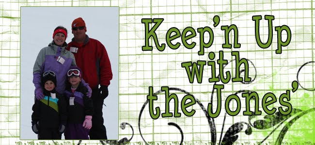 Keep'n up with the Jones'