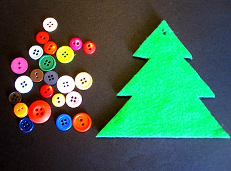 Manualidades de navidad para ni os burbujitas - Arbol de navidad para ninos ...