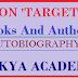 Books And Authors - AUTOBIOGRAPHY Special