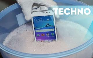 Ilustrasi Smartphone Android Samsung yang Tahan Air Harga 2 Juta (Phone Arena)