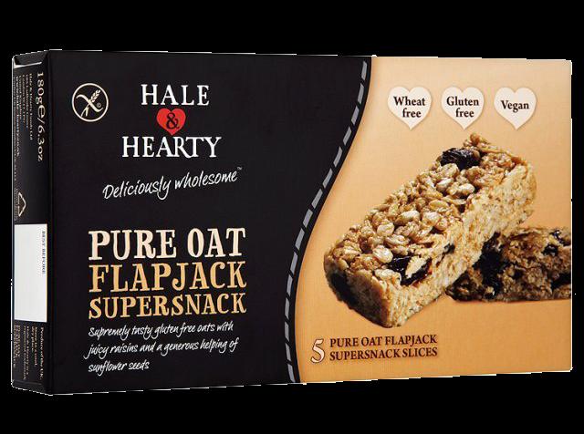 hale herarty gluten free healthy flapjack