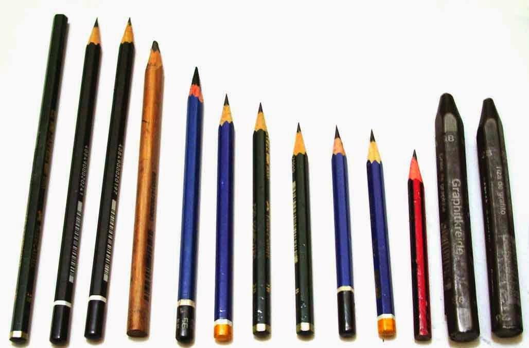Pensil yang Bagus untuk Menggambar
