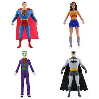 NJ Croche DC Comic Bendy Figures