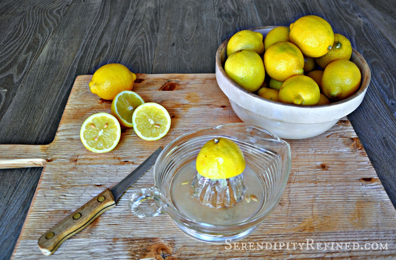 Serendipity Refined Blog: How to Make Lavender-Infused Lemonade