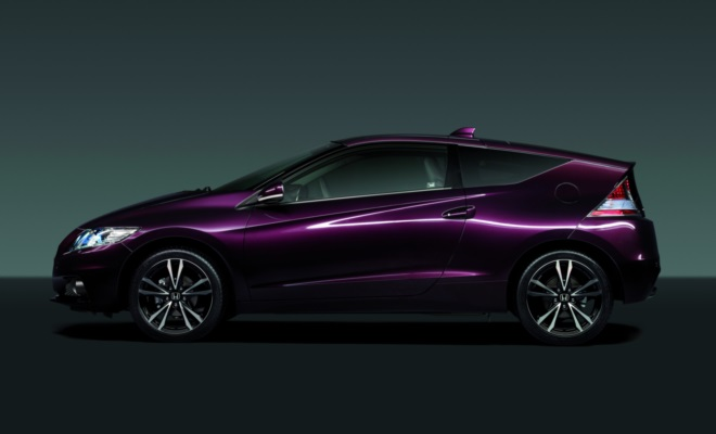 2013 Honda CR-Z from the side