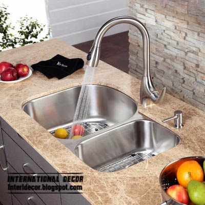 double kitchen sinks, stainless steel sink