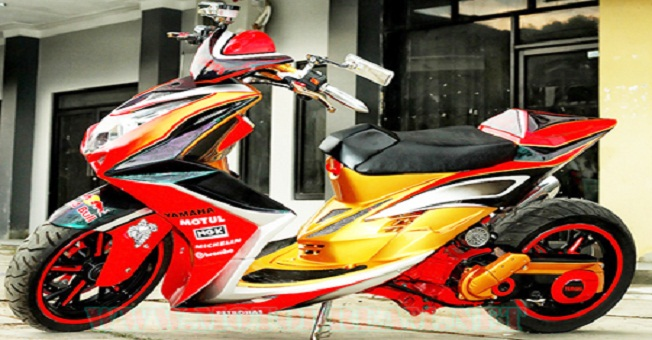Top modifikasi mio sporty terbaru 2013