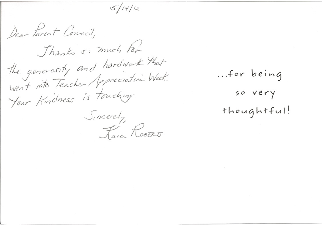 thank you letter to a teacher from a parent image collections teacher 2bappreciation2bthanks