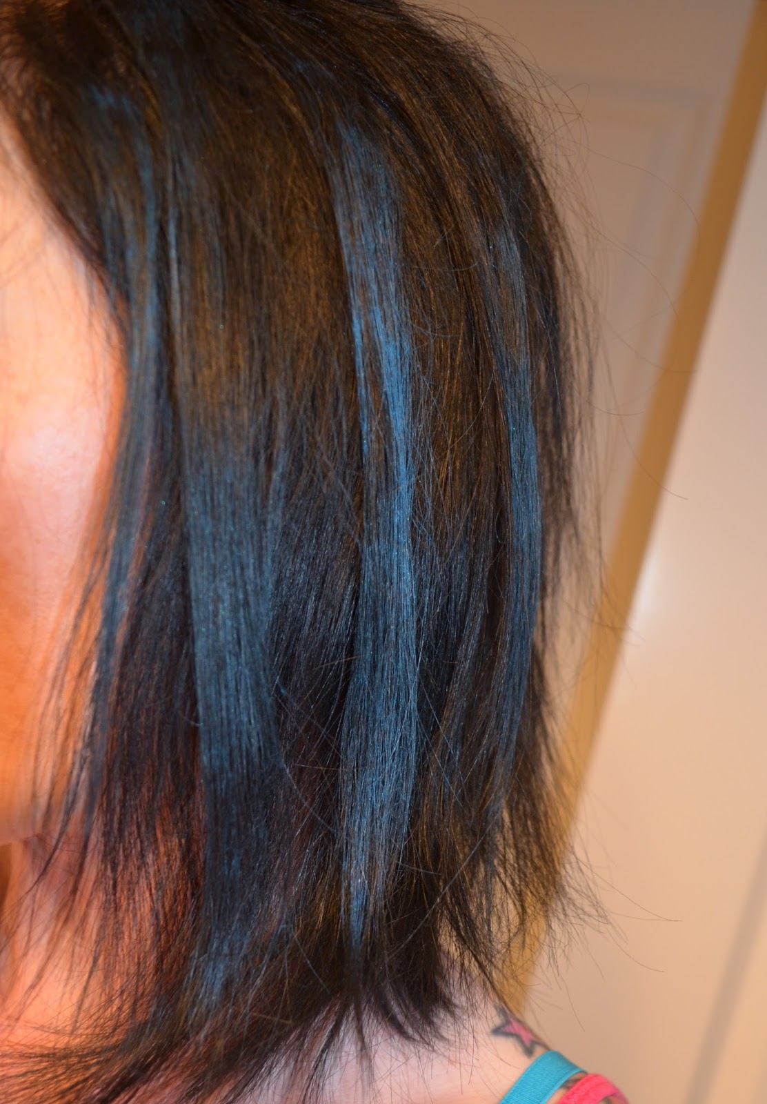 Splat Hair Chalk Midnight Blue Review My Blog Spot