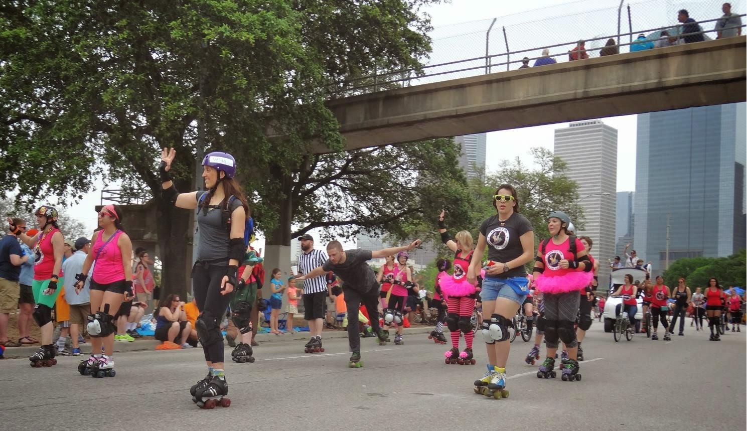 Roller skating houston - 2015 Houston Art Car Parade