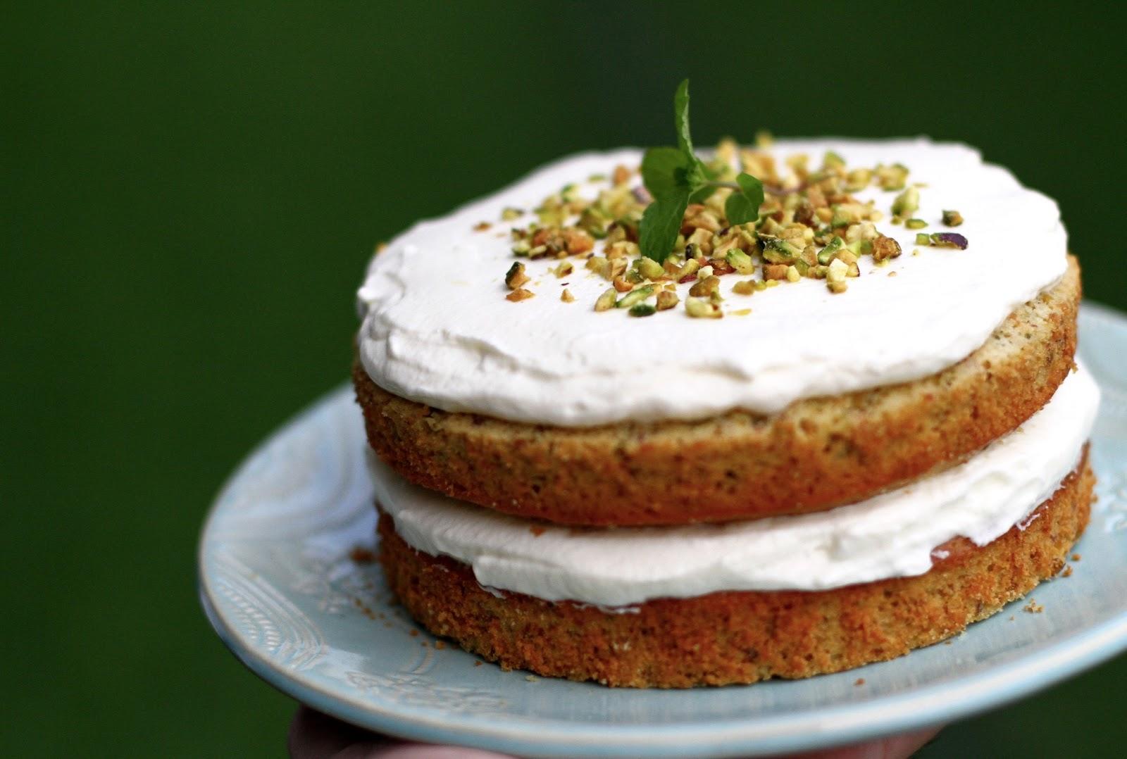 mints & honey: Pistachio Olive Oil Cake