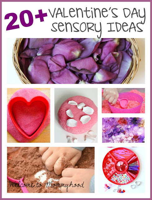 20+ Valentine's Day sensory activities for preschoolers by Welcome to Mommyhood #ValentinesDayActivities, #preschoolactivities, #valentinesdaypreschoolactivities, #montessori, #homeschool