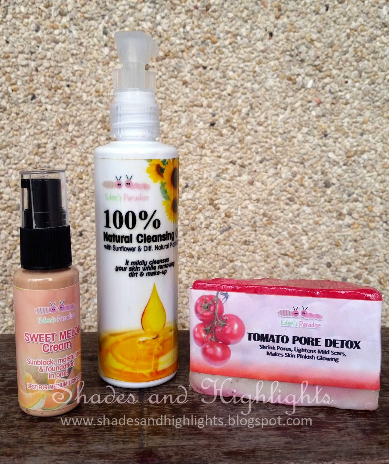 Eden's Paradise Skin Care Products