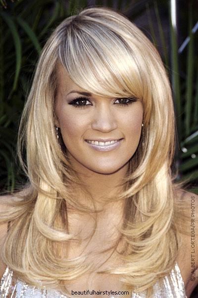 Fringe Layered Hairstyles