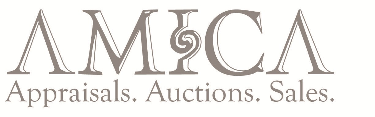 estate sale logo. auctions and estate sales.
