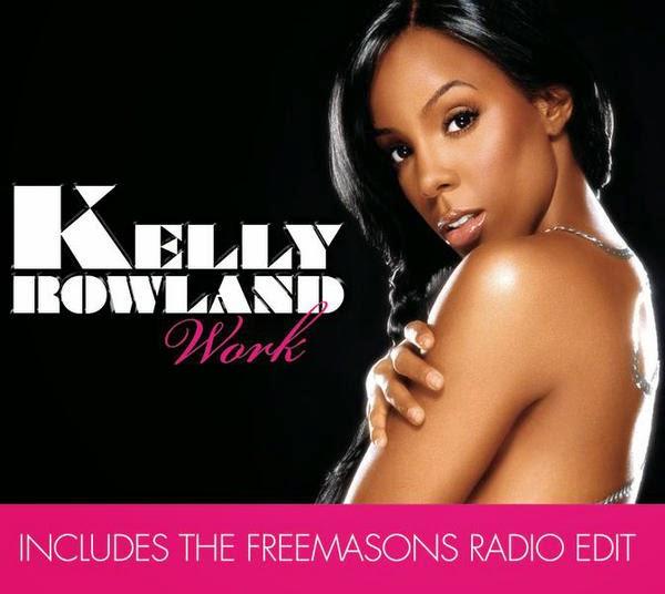 Kelly Rowland - Work (Freemasons Radio Edit) - Single Cover