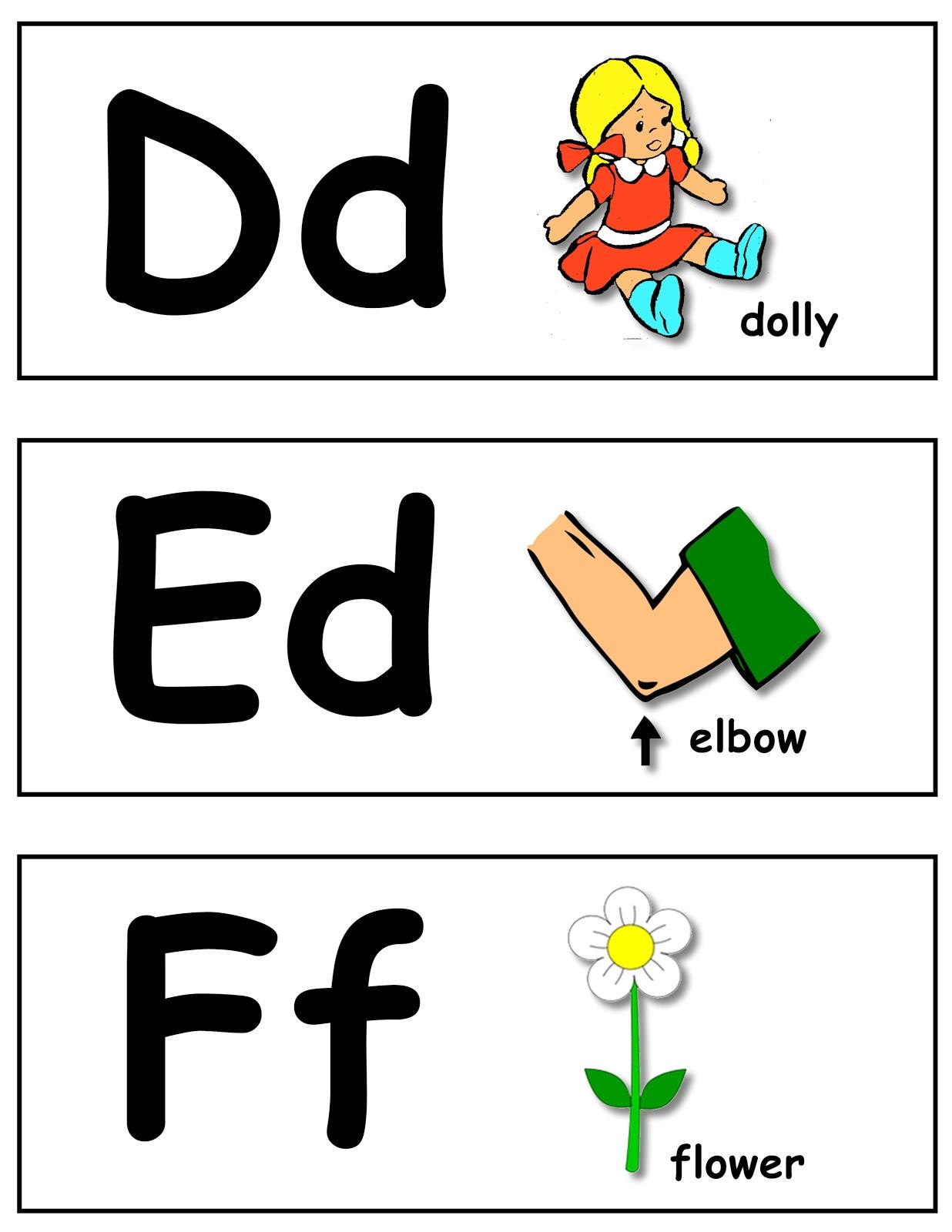 noodle sandwich  alphabet sounds flash cards
