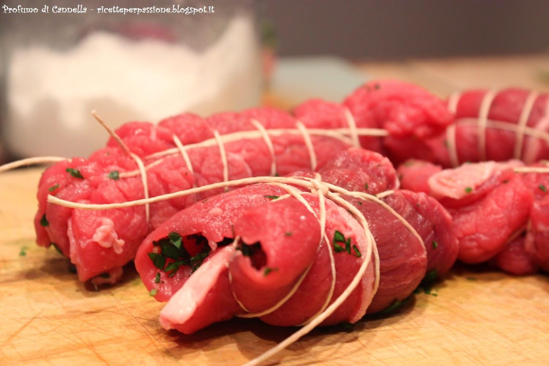 involtini di carne al sugo - la ricetta delle braciole nella sezione