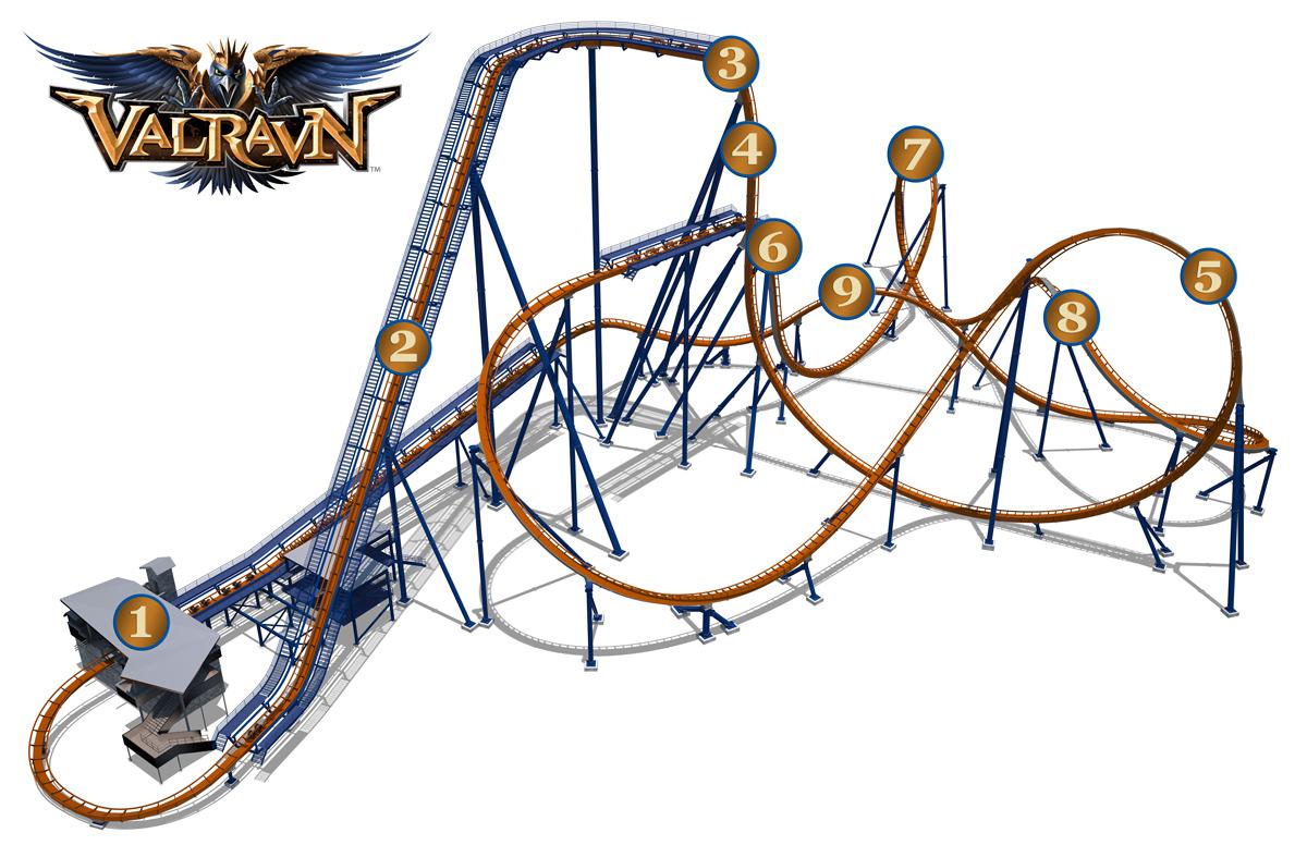 NewsPlusNotes Valravn Dives Into Cedar Point In 2016