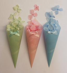 Handmade Confetti Cones