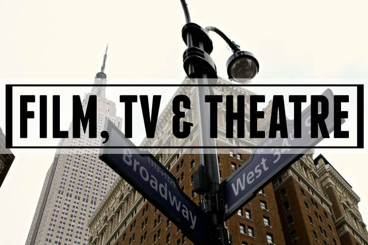 Category Page Header: Film, TV & Theatre
