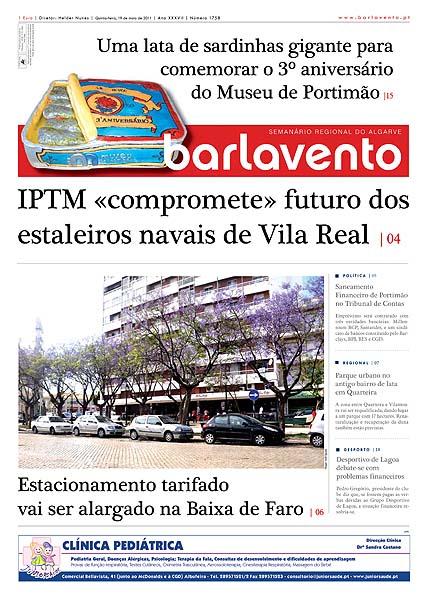 Bolo do 3.º Aniversário do Museu de Portimão