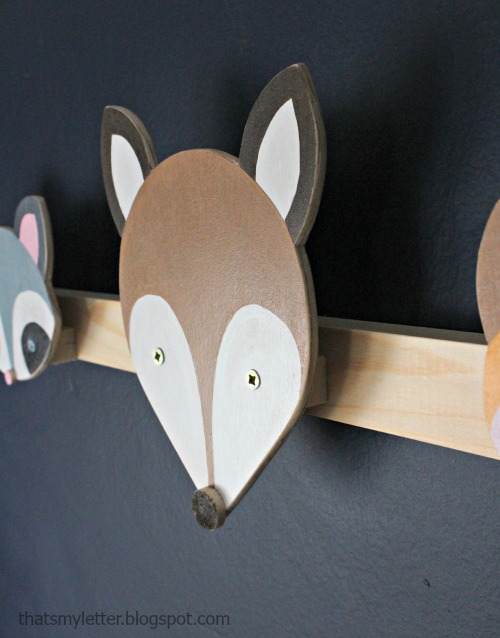 That S My Letter Diy Animal Wall Hooks
