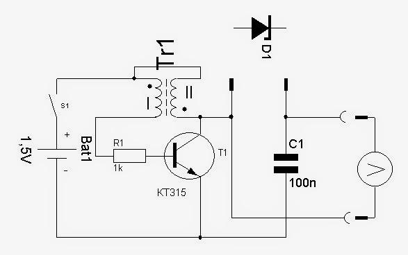 Преобразователь для светодиода схема фото 947