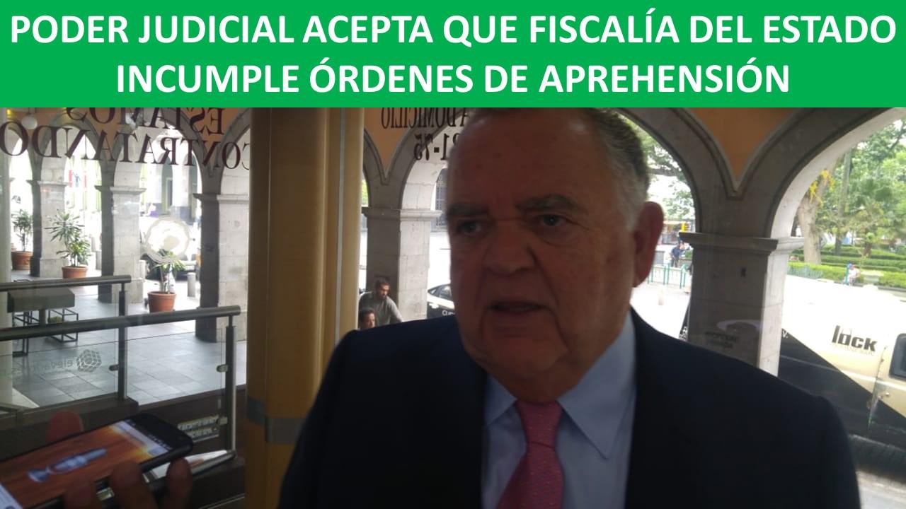 FISCALÍA DEL ESTADO INCUMPLE