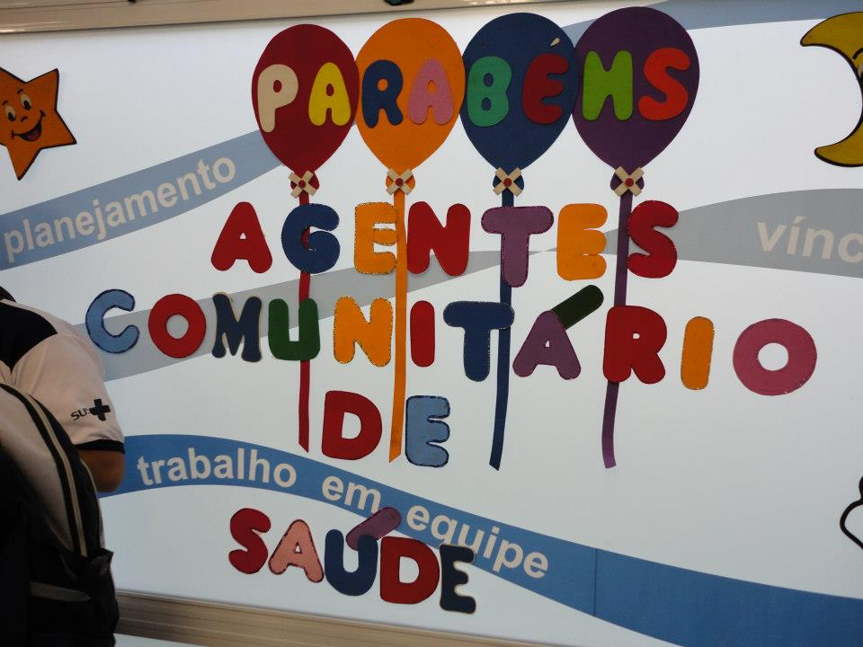 Dia Nacional Dos Agentes Comunitários Clinica Da Família Aloysio