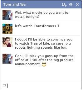 multi-person chat facebook