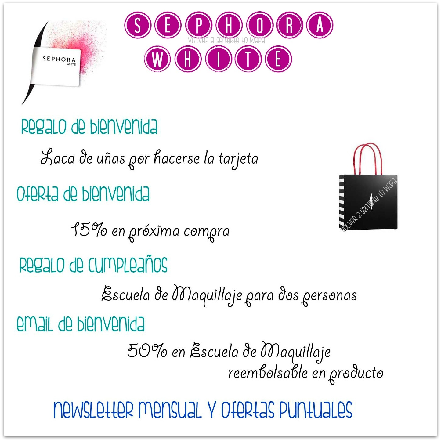 Tarjeta Sephora White - Beneficios y Ventajas