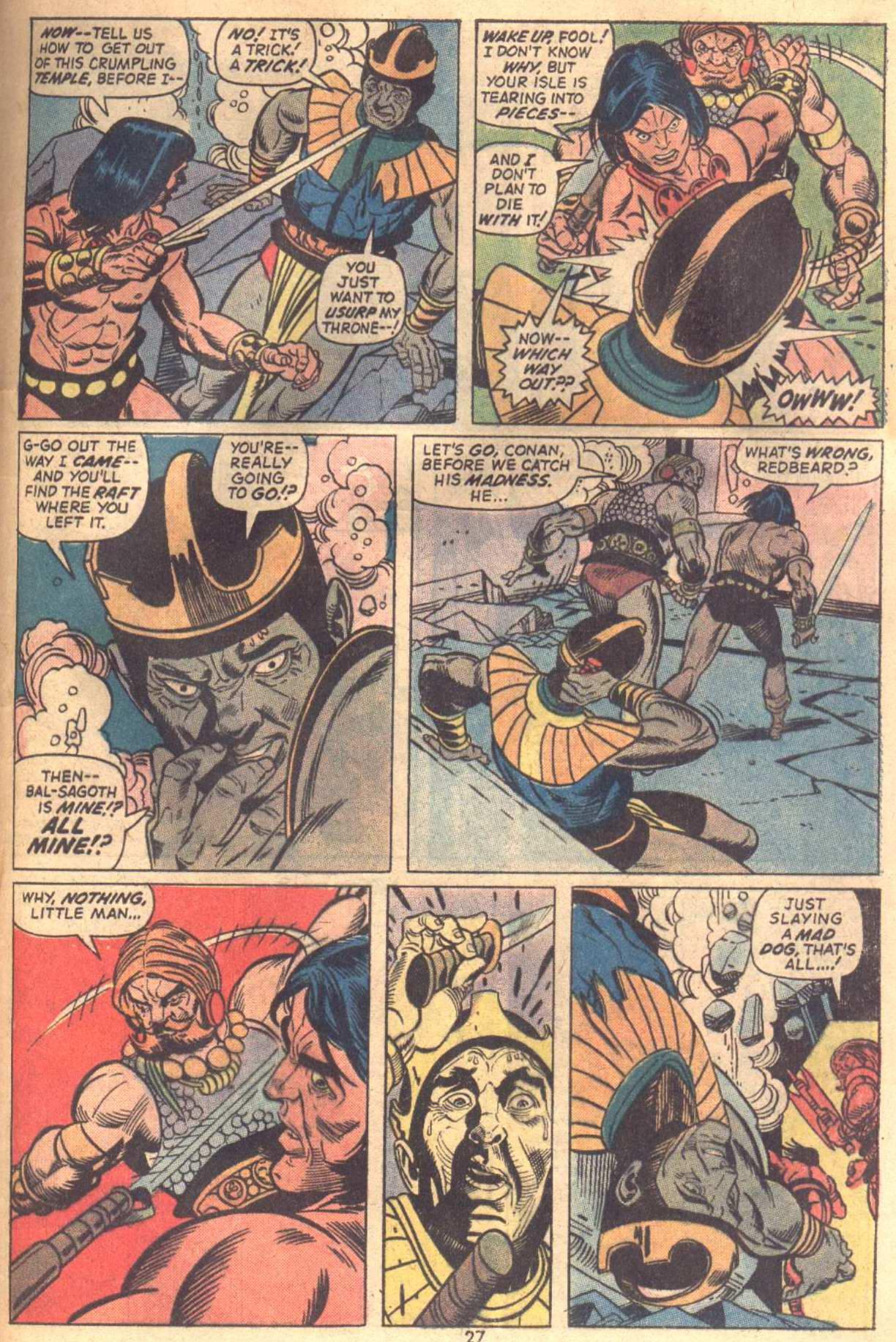 Conan the Barbarian (1970) Issue #18 #30 - English 20
